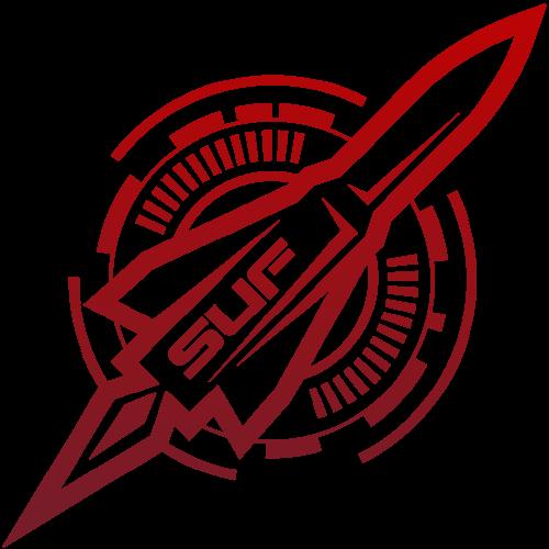 SUF-rocket-logo